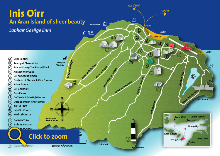 Inisheer Map