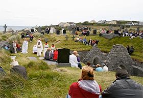 Lá Fhéile Phatrún Inis Oirr Aran Islands